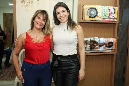 Claudia Oro e Conceição de Oliveira