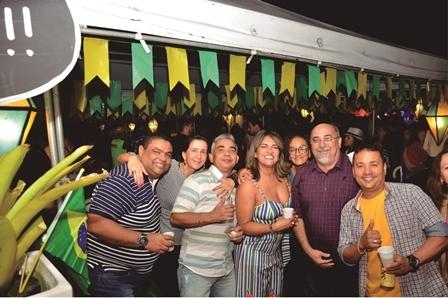 Antonio Mario prefeito de Antonio Cardoso e sua turma
