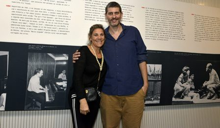 Valéria Machado Colela e Patrick Zeiger