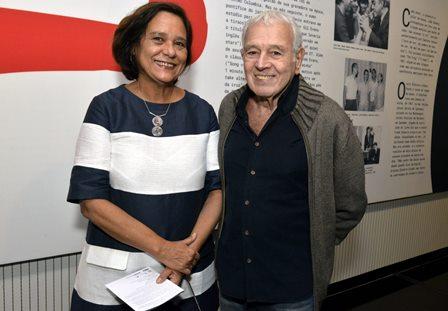Ana Maria Magalhães e  Carlos Lyra