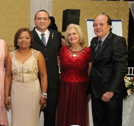 Dra. Emília Santos Azevedo, Dr. Adson, Maria Betânia Knoedt e Hidelbrando Portugal