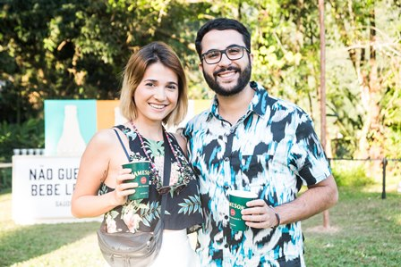 Elisa Amaral e Miguel Von Rondow