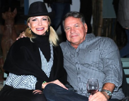Nina Kalffmann e seu marido