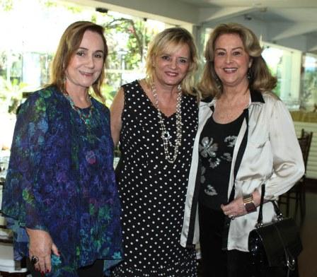 Cyntia Tenorio, Vera Walesca e Diana Vianna