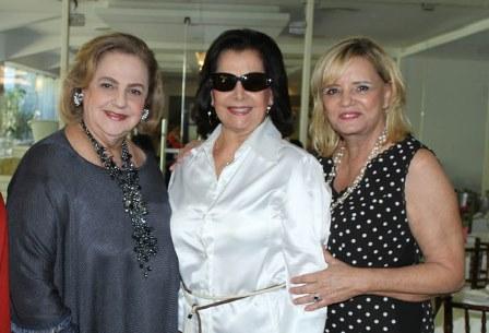 Cristina Aboim, Sonia Romano e Vera Walesca