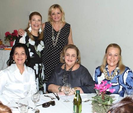 Sonia Romano. Cristina Aboim, Sueli Lobo Lima, Marcia Casares e Vera Walesca