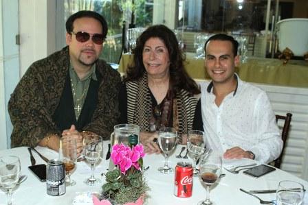 Diogo Cosag, Ana Maria Tornaghi e Pedro Henrique