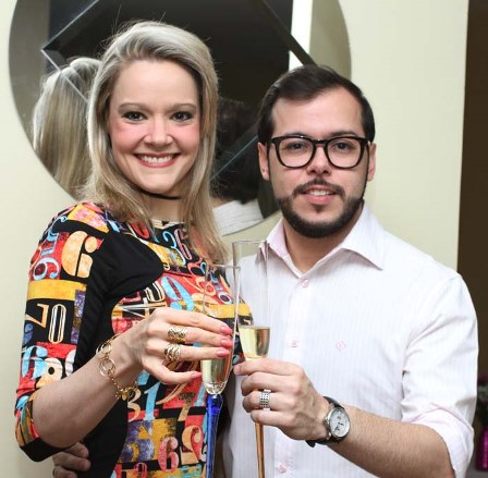 Roberta Fonseca e seu marido