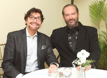 Juan e Brumom e o pianista Richard Jobim