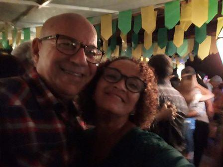 Laerte Correia e Duda Correia