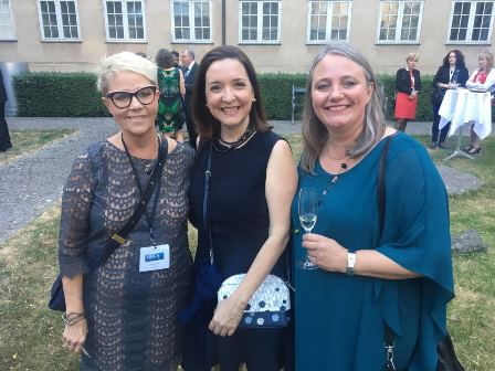 Lene Heilsov, Vera Soviero e Dorte Haubek em Copenhagen