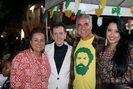 Marinalva Rios, Ailton Pitombo, Deputado Zé Neto e Naiana Santana