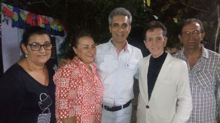 Marinalva Rios, Robinson Almeida, Ailton Pitombo e