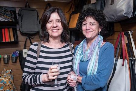Mirian Porto e Monica Rochlin