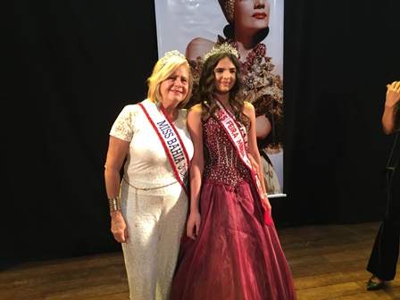 Miss Bahia 3 idade Maria Betania Knoedt e Miss Feira Mirim Maria Clara Uloy da Silva