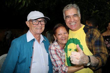 Nelson Peixoto, Marlene e Zé Neto