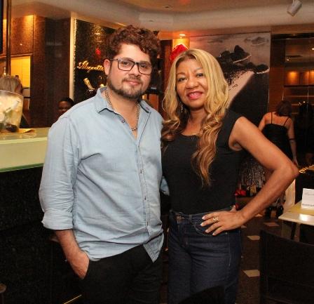Pablo Rocco e Rejane Vieira