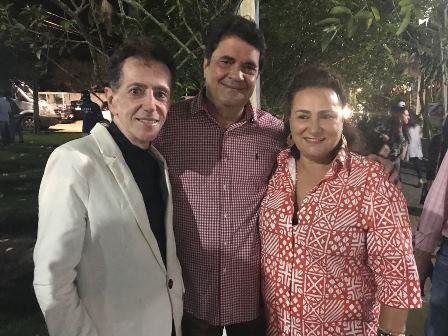 Pitombo, Angelo Almeida e Marinalva Rios