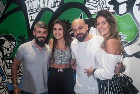 Rodrigo Pezzino Juliana Noronha Victor Rocha e Yana Martins