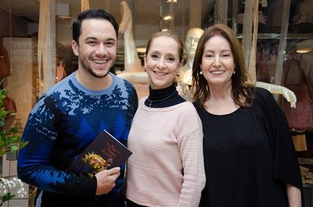 Vinicius Belo, Ana Botafogo e Lu Fernandez