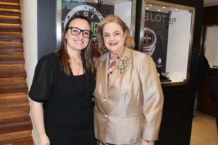 Alessandra Bernstein e Cristina Aboim