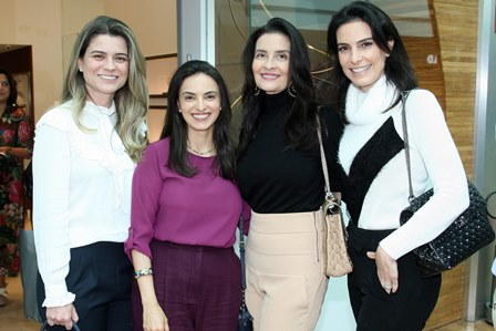 Wanusa Braz, Letica Cardoso, Claudia Gold e Lana Penna