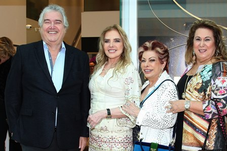 David Zilberman, Laja Zylberman, Bia Veloso e Teresa Macedo