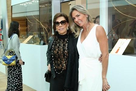 Ana Luiza Rothier e Marcia Verissimo