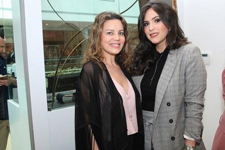 Shirlei Maia e Stefania Jeha
