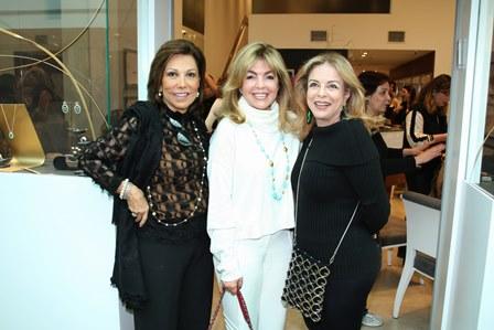 Ana Luiza Rothier, Sonia Simonsen e Suely Bedran