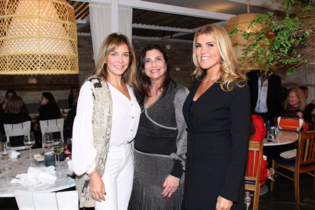 Marlyan Kenigsberg, Denise Grassi e Claudia Lobo