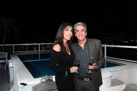 Iná Arruda e Manoel Thomaz Carneiro