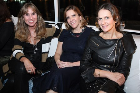 Andrea Rudge, Carla Rudge e Cris Pinheiro Guimarães