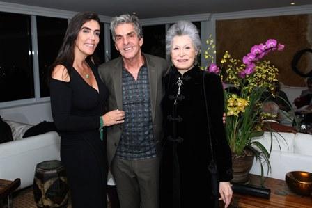 Iná Arruda, Manoel Thomaz Carneiro e Gisela Amaral