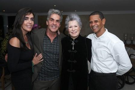 Iná Arruda, Manoel Thomaz Carneiro, Gisela Amaral e Pereira
