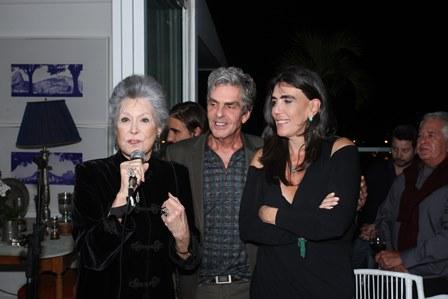 Gisela Amaral, Manoel Thomaz Carneiro e Iná Arruda