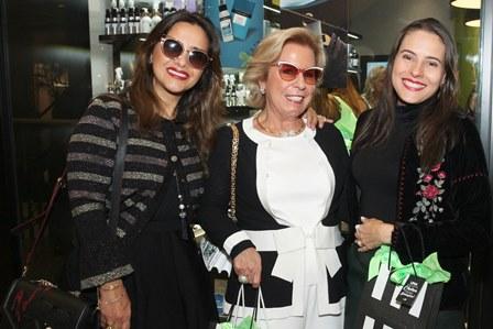 Ana Teresa Patrão,Viviane Cohen e Alina Donato