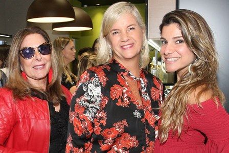 Dirce Motta,Monica Verol e Tatiana Bonaparte Dorf