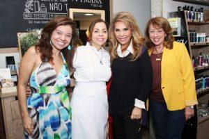 Andreia Ribeiro,Nadja Pimentel,Terezinha Sodré e Lucia Baruffaldi