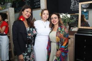 Jassy Oliveira,Nadja Pimentel e Aymara Limma
