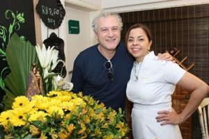 Edi Botelho e Nadja Pimentel
