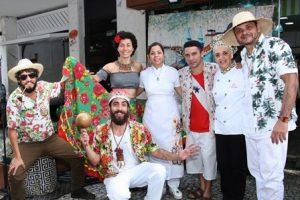 Grupo  Batuque do Igapó,Andrea de Vasconcelos ,Nadja Pimentel e Lia Martins