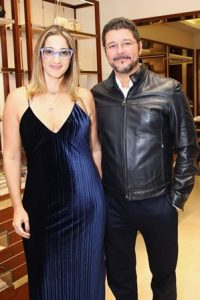 Ana Paula e Marcus Steele
