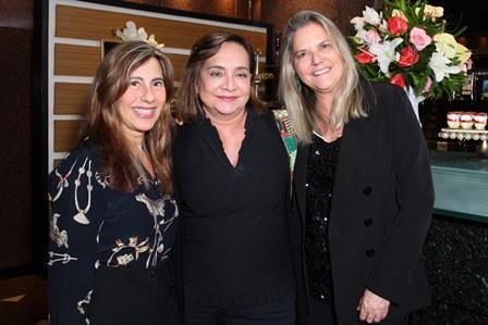 Alice Tomborindeguy ,Claudia Simões e Maninha Barbosa