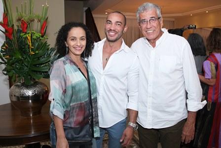 Rosangela Feitosa,Italo Luz e Jorge Vieira