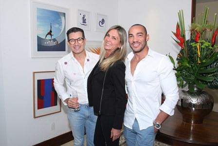 Marcelo Hicho,Marcia Verissimo e Italo Luz