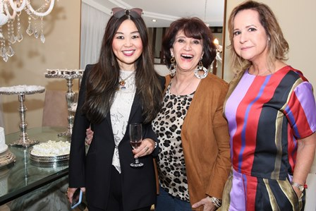 Mônica Nakamura,Micheline Thomé e Jaqueline Barreto