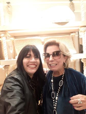 Adelma Fonseca e Viviane Cohen