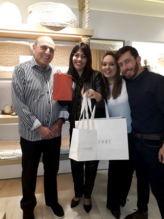 Amnom Czerny, Adelma Fonseca, Gerente da Loja e Tom Erthal