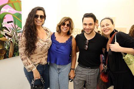 Ana Torres, Auriete Middleton, Vinicius Belo e Yara Figueiredo